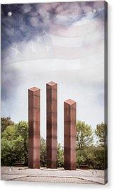 Southeastern Wisconsin Vietnam Veterans Memorial Acrylic Print by Scott Norris
