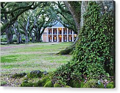 Southern Manor Home Acrylic Print by Jeremy Woodhouse