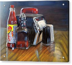 Southern Sauces Acrylic Print by Christopher Reid