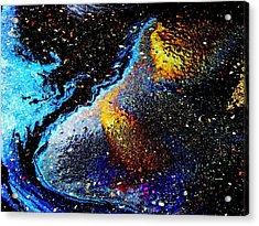 Space Boot Acrylic Print by Samuel Sheats
