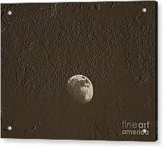 Space Dirt  Acrylic Print by Steven  Digman