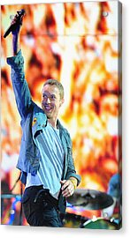 Coldplay4 Acrylic Print by Rafa Rivas