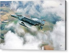 Spang Wild Weasel Acrylic Print by Peter Chilelli