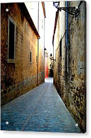 Urban Acrylic Print featuring the photograph Spanish Alley by Roberto Alamino