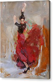 Spanish Cultlure 37 Acrylic Print by Corporate Art Task Force