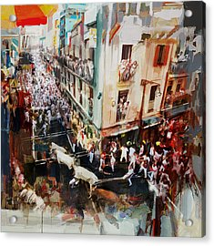 Spanish Culture 11 Acrylic Print by Corporate Art Task Force