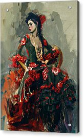 Spanish Culture 16 Acrylic Print by Corporate Art Task Force