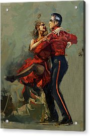 Spanish Culture 17 Acrylic Print by Corporate Art Task Force