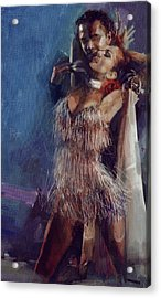 Spanish Culture 23b Acrylic Print by Corporate Art Task Force