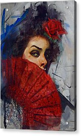 Spanish Culture 28b Acrylic Print by Corporate Art Task Force