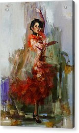 Spanish Culture 31b Acrylic Print by Corporate Art Task Force