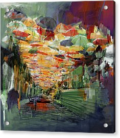 Spanish Culture 32b Acrylic Print by Corporate Art Task Force