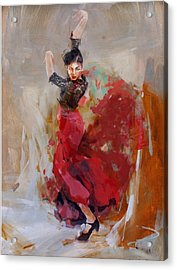 Spanish Culture 37b Acrylic Print by Corporate Art Task Force