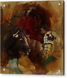 Spanish Culture 7 Acrylic Print by Corporate Art Task Force
