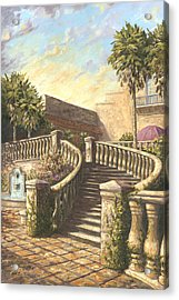 Spanish Springs Acrylic Print by Jose Rodriguez