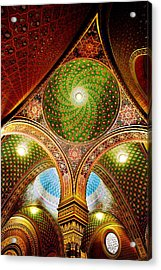 Spanish Synagogue Acrylic Print by John Galbo