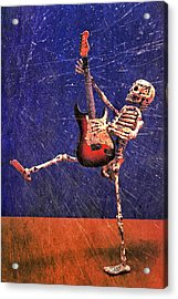 Sparky Acrylic Print by Jeff Gettis