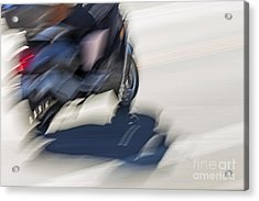 Speed Acrylic Print by Kate Brown