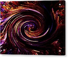 Spinning Around Acrylic Print by Steve K