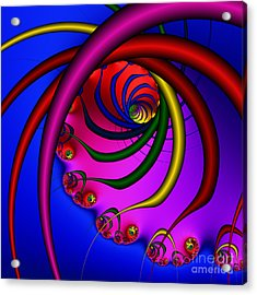 Spiral 216 Acrylic Print by Rolf Bertram