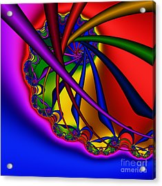 Spiral 217 Acrylic Print by Rolf Bertram