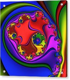 Spiral 218 Acrylic Print by Rolf Bertram