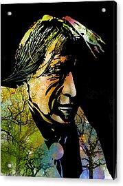 Spirit Of The Land Acrylic Print by Paul Sachtleben