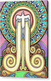 Spirit Rising Acrylic Print by Amy S Turner