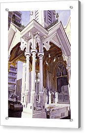 Spirits Of The Old Church Acrylic Print by Mike Hill