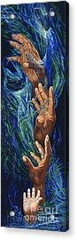 Spiritual Bridge Acrylic Print by George Combs