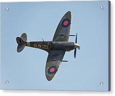 Spitfire Mk9 Acrylic Print by Ian Merton