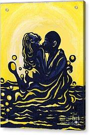 Splash Acrylic Print by Toni  Thorne