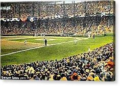 Sportsman's Park In St. Louis Mo 1943 Acrylic Print by Dwight Goss
