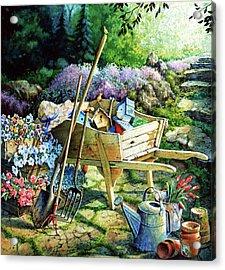 Spring At Last Acrylic Print by Hanne Lore Koehler