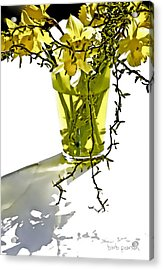 Spring Bouquet Acrylic Print by Barb Pearson