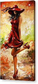 Spring Breeze Acrylic Print by Emerico Imre Toth