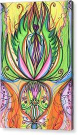 Spring Forward Acrylic Print by Daina White