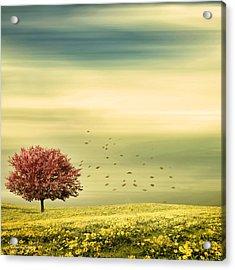 Spring Acrylic Print by Lourry Legarde