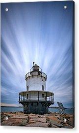 Spring Point Ledge Lighthouse Acrylic Print by Rick Berk
