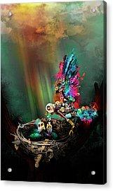 Spring Acrylic Print by Robert Palmer