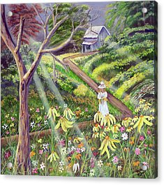 Spring Splendor Acrylic Print by Mikki Alhart