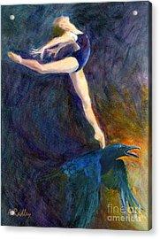 Spring To Heaven Acrylic Print by Ann Radley