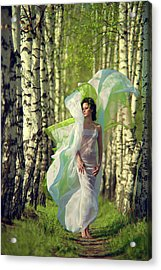 Spring Acrylic Print by Vladimir Zotov