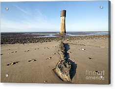 Spurn Head Acrylic Print by Stephen Smith