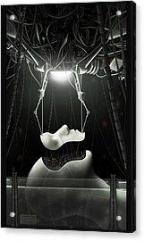 Spyrotek Dekonstrukt Acrylic Print by Martin Bland