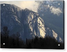 Squamish Chief Monolith  Acrylic Print by Pierre Leclerc Photography