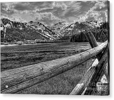 Squaw Valley Usa Olympic Valley California Acrylic Print by Scott McGuire