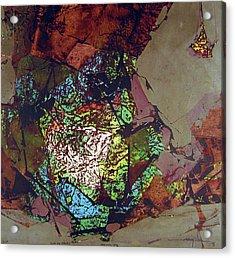Ss1978ny001 Luz De Otono 3-7 15x14.25 Acrylic Print by Alfredo Da Silva