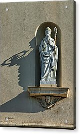 St. Augustine Of Hippo Acrylic Print by Christopher Holmes