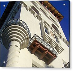 St. Augustine Spanish Colonial Ornate Acrylic Print by Patricia Taylor